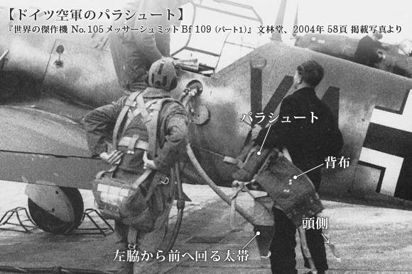ドイツ空軍のカポック製救命胴衣