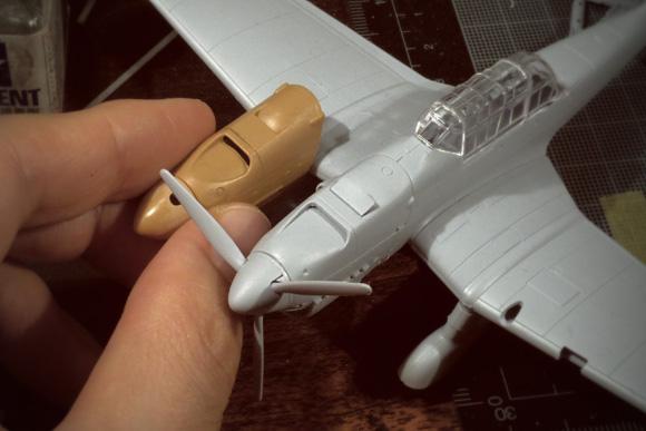 燕雀洞 エアフィックスの新製品、B-1型をレビュウする – 1/72でJu 87 B「スツーカ」をつくる: 12