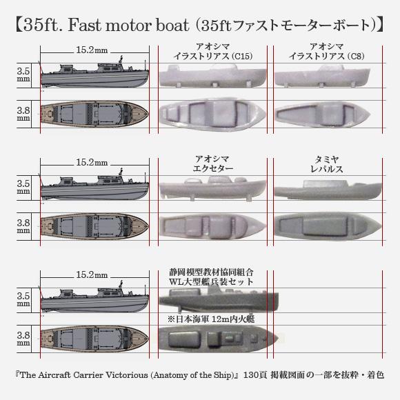 35ft. Fast motor boat (35ftファストモーターボート)