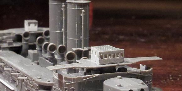 艦橋の自作