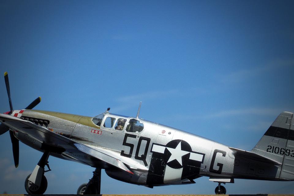 タミヤ1/48 P-51B