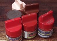 不完全版・模型用塗料の近似修正マンセル値一覧表: 桃色・赤色・赤茶色篇
