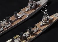 「天龍型」フルスクラッチの過程、濃縮版 - 1/700で天龍型軽巡をつくる: 18