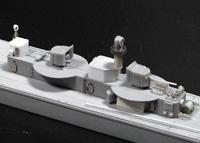 ディテールの密度を意識して後部操舵室周りを構築する