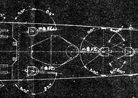 「球磨型」の図面から、艦橋基部の平面形を考える