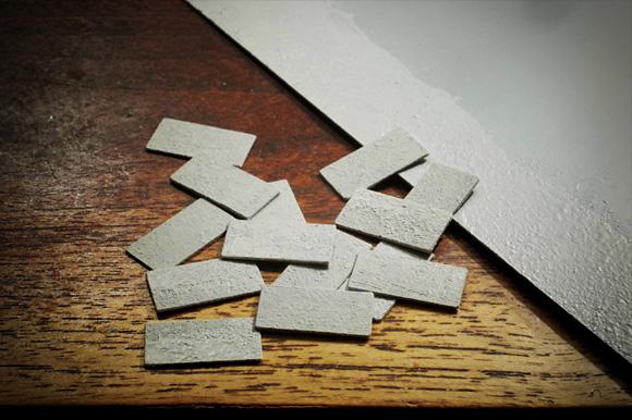 1/35の和風石畳のテクスチャー